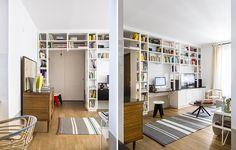 Librerie a ponte, a tutta parete e altre soluzioni originali