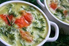 Zielona Patelka: Norweska zupa z wędzonym łososiem