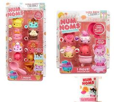Num Noms Gift Pack of 3 Sets Ice Cream Sundae Triple Berry and Mystery Box   eBay