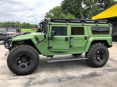 If you had the HULK for one day, where would you take it? #hummer #h1 #widebody #hulk