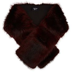 Lanvin Women's Fur Stole (202930 DZD) ❤ liked on Polyvore featuring accessories, scarves, burgundy, burgundy scarves, fur shawl, burgundy shawl, fur scarves and lanvin