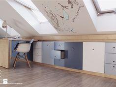 Realizacja pokoju dla chłopca w wieku szkolny. - Pokój dziecka, styl nowoczesny - zdjęcie od COI Pracownia Architektury Wnętrz