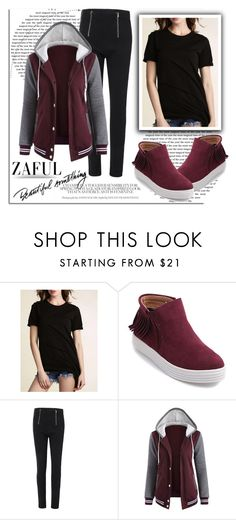 """ZAFUL 3"" by melissa995 ❤ liked on Polyvore"