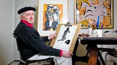 Charles Blackman (Australian: - Artist and his works! Australian Painting, Australian Artists, Alice In Wonderland Series, Arthur Boyd, Painter Artist, Art Studios, Artist At Work, Illustrators, Modern Art