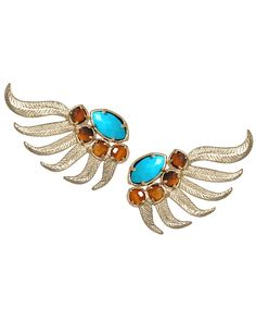 i want to accessorize better in 2013, starting with more unique earrings like these from Kendra Scott {new jewelry obsession}