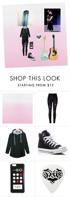 Untitled #61 by calumhoodgirl on Polyvore featuring WithChic and Converse