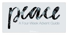 Peace: A Four-Week Advent Guide