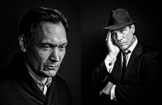 Black and White celebrity portrait photography. Classic Film Noir Hollywood glamour headshots and B&W portraits of actors and celebrities