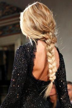 Kim Kardashian - Hair Braid Addiction Photos