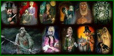 """Have you seen all of the """"sinister eleven"""" portraits?"""
