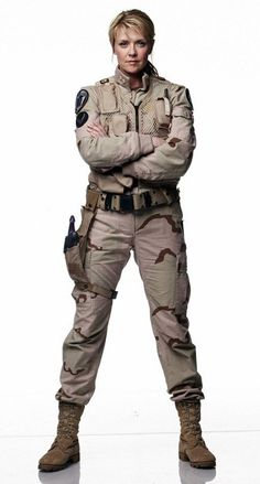 Because I'm tired of fairy princesses and pink being the only role models a girl is allowed to have. Samantha Carter - Stargate SG-1