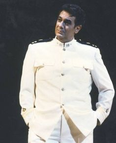 Placido Domingo as General Pinkerton in Puccini's Madame Butterfly