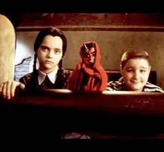 We all know there are those posers who pretend like they know how awesome Wednesday Addams is every time Halloween comes around. But the true fan knows Wednesday isn't just for Halloween—she is a way of life. Find out how Wednesday Addams you truly are. The Addams Family, Addams Family Values, Adams Family, Los Addams, Charles Addams, Collage Background, Wednesday Addams, Christina Ricci, Vintage Horror