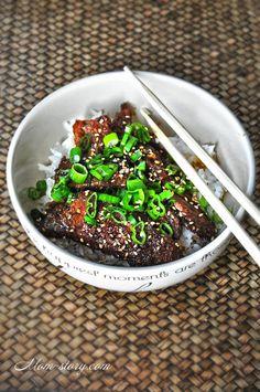 говядина по монгольски