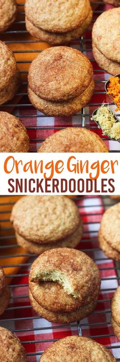 These orange ginger snickerdoodles are a step away from the original with a citrusy, slightly spiced twist. Perfect for the holidays! mysequinedlife.com