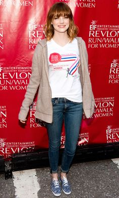 At the Revlon Run/Walk for Women on May 3, 2014, in New York City. Getty Images  -Cosmopolitan.com
