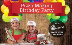 Have A Pizza Making Birthday Party - La Porchetta Kids Party Venues, Birthday Party Venues, Small Pizza, Make Your Own Pizza, Chef Party, Your Child, Auckland, Children, Mini