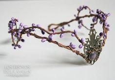 Эльфийские тиары<br><br>#Elven #tiara #Craft…