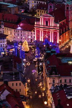 Christmas in Ljubljana, Slovenia