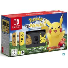 Pokémon : Lets Go Pikachu! Edition Pikachu & Evoli Bundle Nintendo Switch Taille : Taille Unique - Switch Nintendo - Switch Nintendo for sales - - Pokémon : Let's Go Pikachu! Ps4, Playstation, Buy Nintendo Switch, Nintendo Switch System, Top Pokemon, Pokemon Cards, The Legend Of Zelda, Breath Of The Wild, Products