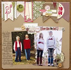 Need to make a LO like this for KT & Kyle since I have all the Christmas photos out.