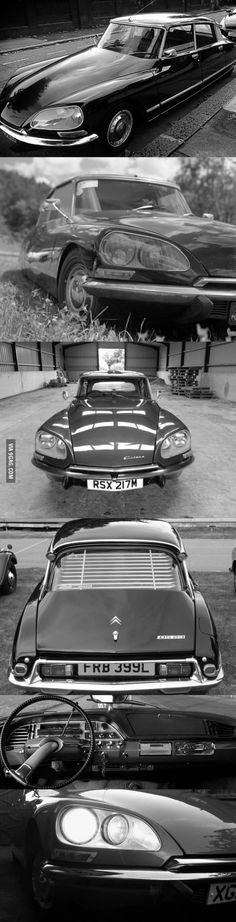 Enough ugly cars! A piece of art and design history: Citroën DS 23 Pallas
