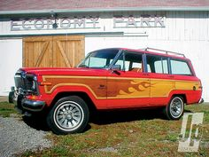 Awesome woody mod on a Grand Wagoneer - International Full Size Jeep Association
