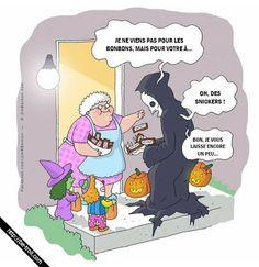 Je viens pour votre âme... #Halloween #bonbons