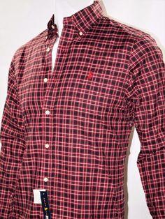 Ralph Lauren plaid twill long sleeve shirt  #LaurenRalphLauren #ButtonFront