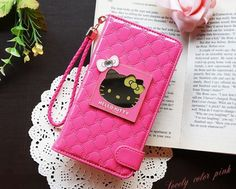 HELLO KITTY MIRROR SMART WALLET CASE FOR LG G4