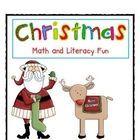 Christmas Math and Literacy {Aligned with Common Core} by Deanna Jump
