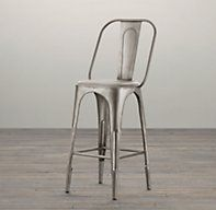 """Counter Stool $150 ($0 delivery) Restoration Hardware (Counter Stool: seat, 26""""H; 14""""W x 16""""D x 41""""H overall)"""