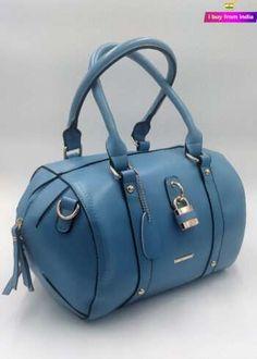 Handbags Online   Buy Handbags for women Discount   i Buy From India Branded Handbags Online, Beautiful Handbags, Online Sales, Designer Handbags, Leather Handbags, Women Accessories, India, Blue, Cute Handbags