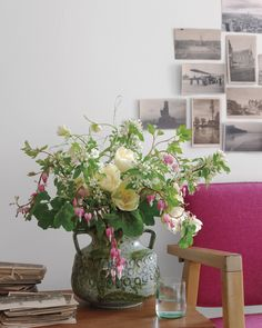 """""""Most people look at flowers inside the home as just decoration,"""" says New York–based photographer Ngoc Minh Ngo. In these images from her new book, """"Bringing Nature Home: Floral Arrangements Inspired by Nature"""" (Rizzoli), Ngo collaborates with floral designer Nicolette Owen and prop stylist Amy Wilson to coax the great outdoors into a variety of distinctive  designs"""