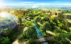 future sustainable city