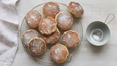 Fennel Welsh cakes with a blueberry coulis recipe - BBC Food Easy Welsh Cakes, Welsh Cakes Recipe, Welsh Recipes, Blueberry Coulis, Easy Cooking, Cooking Recipes, Flour Recipes, Coulis Recipe, Cake Recipes Bbc