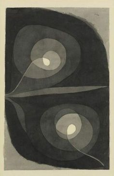 topplingmoleskine: Paul Klee Spiralscheibenbluten 1932 522 804 The image is possibly subjected to copyright #art #abstract #minimal #geometric