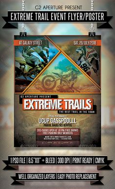 Extreme Trail Event Flyer / Poster