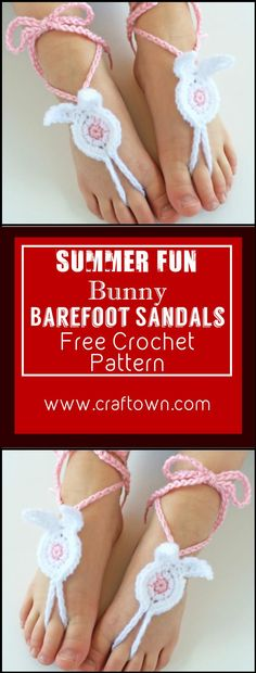 Crochet Barefoot Sandals - 50+ Free Crochet Patterns - Page 8 of 10 - DIY & Crafts