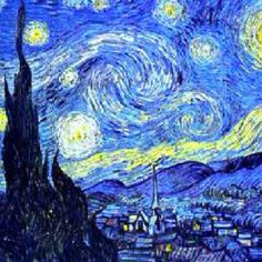 Classic Art Ideas for the House-  Vincent van Gogh Starry Night...