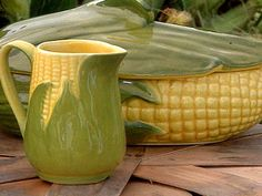 Shawnee Corn King pottery--just like Mamaw's