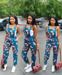 Rock the Latest Ankara Jumpsuit Styles these ankara jumpsuit styles and designs are the classiest in the fashion world today. try these Latest Ankara Jumpsuit Styles 2018 African Fashion Ankara, African Inspired Fashion, Latest African Fashion Dresses, African Print Fashion, Africa Fashion, Modern African Fashion, African Ankara Styles, Unique Ankara Styles, African American Fashion