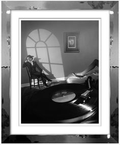 """Black and white """"Fashion Room"""" photograph by Willie Christie"""