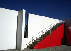 Red stairs house_jay for Jerome N. Keshwar 2005