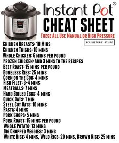 instant pot recipes easy How to Convert Recipes into an Instant Pot Recipes is the most common question I get! I love using the instant pot, but sometimes it can be hard to know what will work and what won't. Best Instant Pot Recipe, Instant Recipes, Instant Pot Dinner Recipes, Instant Pot Meals, Instant Pot Veggies, Instant Pot Pot Roast, Recipes Dinner, Lunch Recipes, Drink Recipes