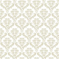 Beige Leaf Damask contact paper. sophisticated option for outdoor table cover