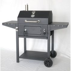 """The Original Outdoor Cooker 25"""" Portable Charcoal Grill with Cart"""