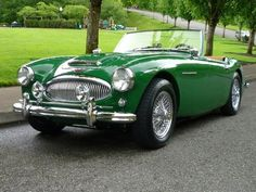 1962 Austin Healey Roadster. One of the most beautiful cars ever made.