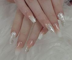 33 Precise Combination Pink and Gold Colors for Nail Art Design - Sweet ♥ - Art Cute Nails, Pretty Nails, Milky Nails, Color For Nails, Nail Colors, Nagellack Design, Bride Nails, Metallic Nails, Glitter Nails