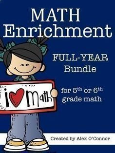 Get the majority of my math products at a large discount by purchasing them as a part of my Math Mega Bundle. Math Mega Bundle Grade Math) This product includes grade math enrichment task cards for Teaching 6th Grade, Sixth Grade Math, Teaching Math, Math Teacher, Math Classroom, Math Resources, Math Activities, Math Games, Math Enrichment
